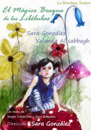 Cartel de El mágico bosque de las libélulas