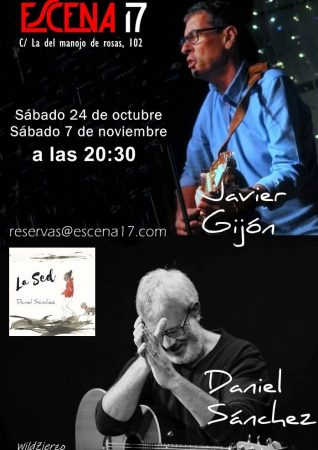 Cartel de Javier Gijón y Daniel Sánchez