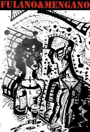 Cartel de Fulano y Mengano