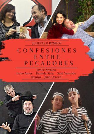 Cartel de Confesiones entre pecadores