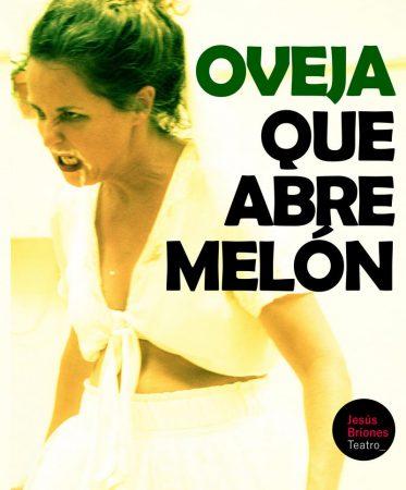 Cartel de Oveja que abre melón