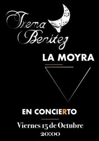Cartel de Txema Benítez y La Moyra